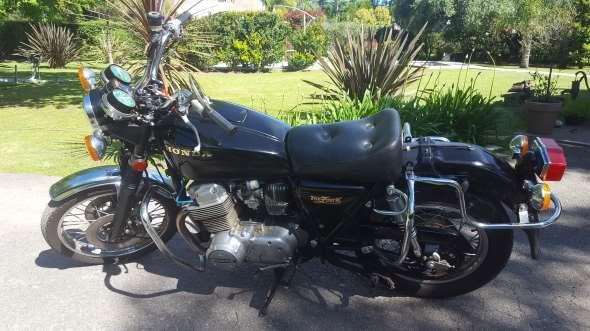 Honda Four Motorcycle