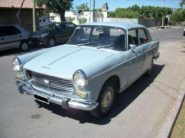 Auto Peugeot 404 1972