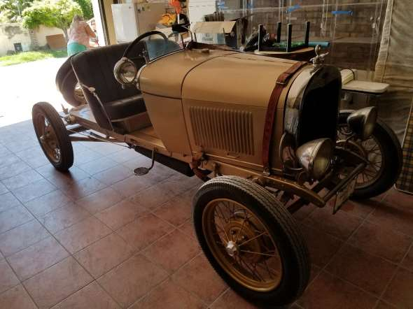 Auto Ford A Baquet 1928