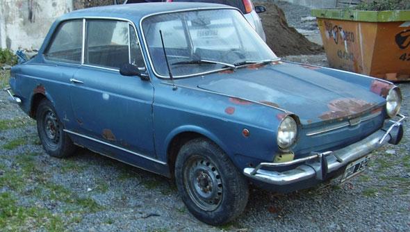 Auto Fiat 800 1968