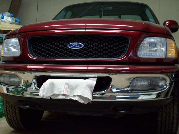 Auto Ford F150 Flare Side Lariat 4x4 V8