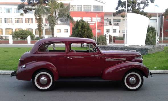 Auto Chevrolet Master 1939