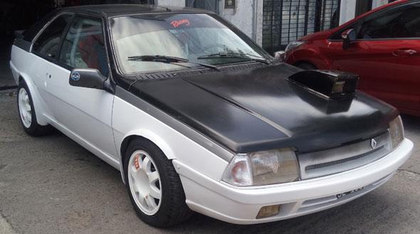 Auto Renault Fuego Gta 1990