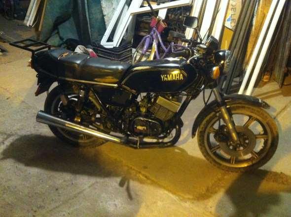 Moto Yamaha Daytona Special