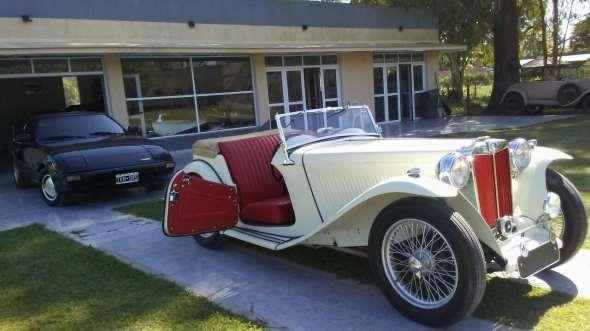 Auto MG TC 1947