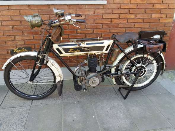 Moto Humber 1913