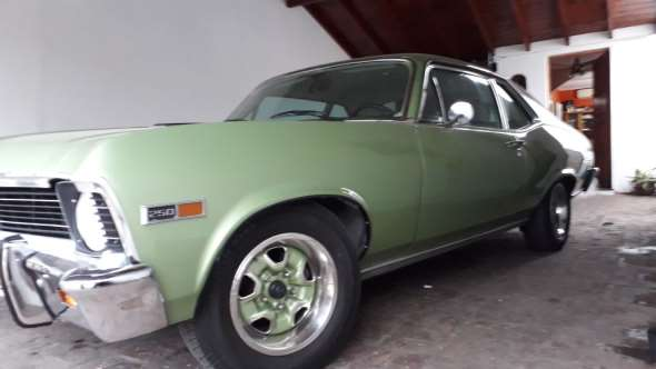 Auto Chevrolet Chevy SS 1971