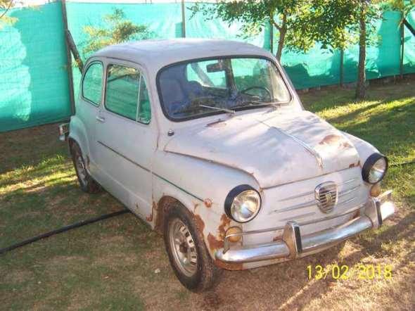 Auto Fiat 600 E 1966