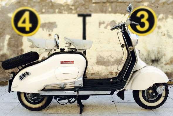 Moto Siambretta De Luxe 125