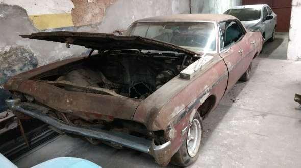 Auto Chevrolet Caprice 1968