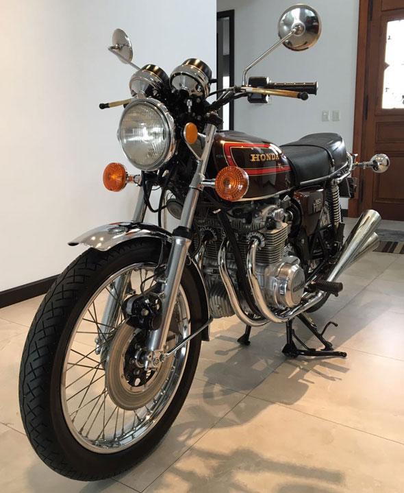 Moto Honda CB 550 Four K