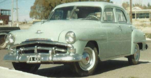 Auto Plymouth 1951
