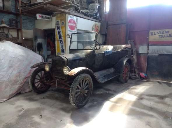 Auto Ford T 1923