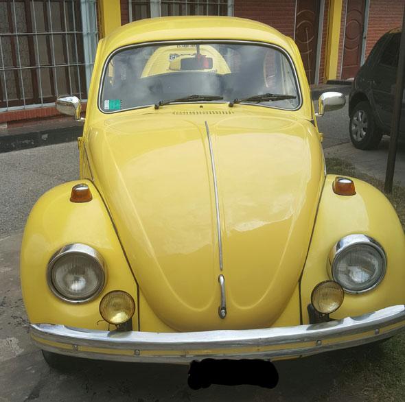 Auto Volkswagen Escarabajo Fusca 1300L