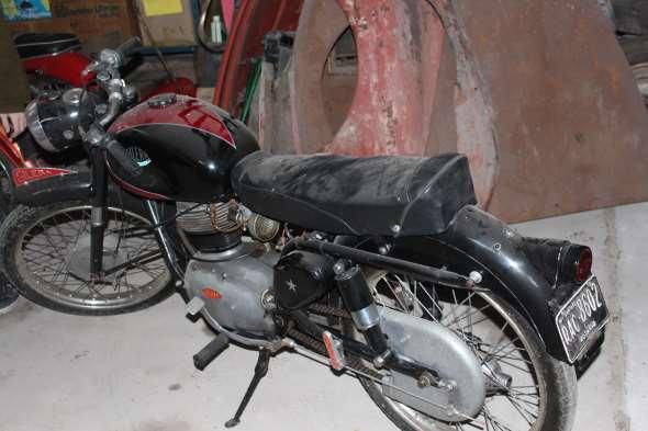 Gilera Super Sport 150 Motorcycle