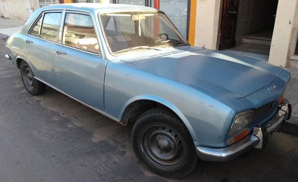 Auto Peugeot 1971