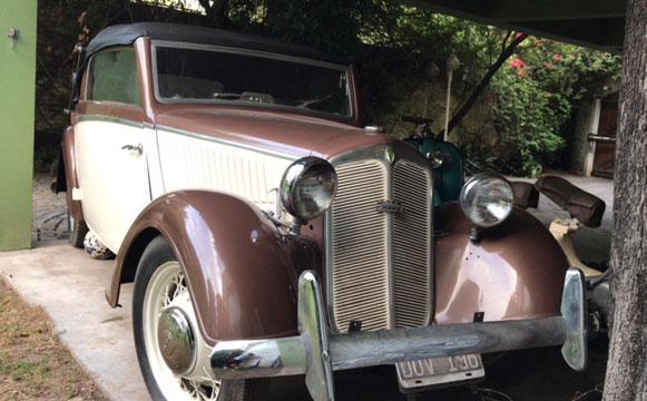 Car DKW F5 1935