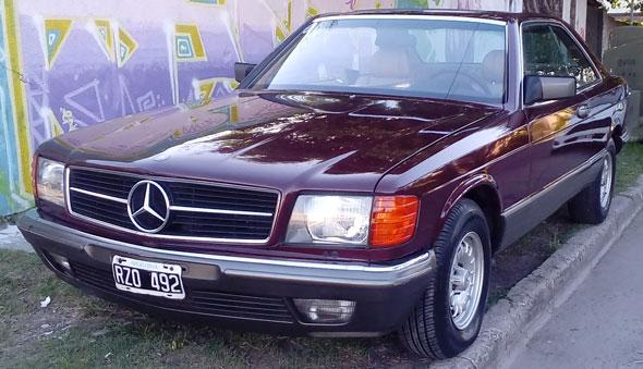 Auto Mercedes Benz 500 SEC 1985