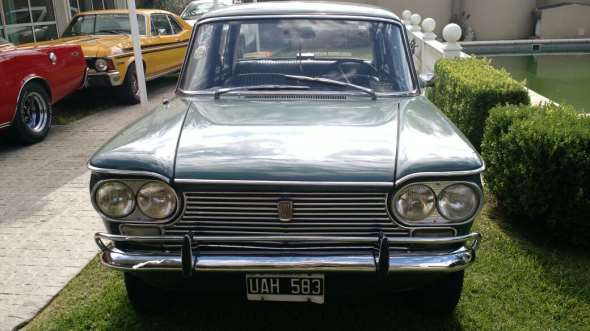 Auto Fiat 1500 1966