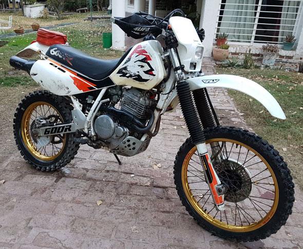 Moto Honda XR600R