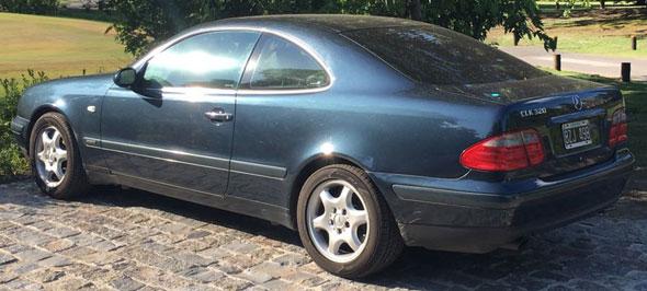 Auto Mercedes Benz CLK 320