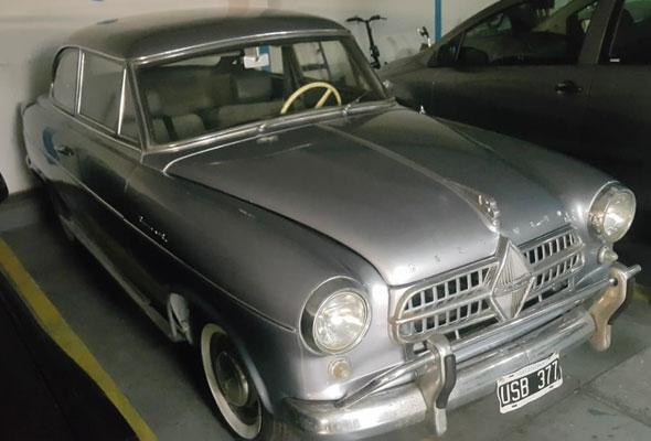 Auto Borgward 1956