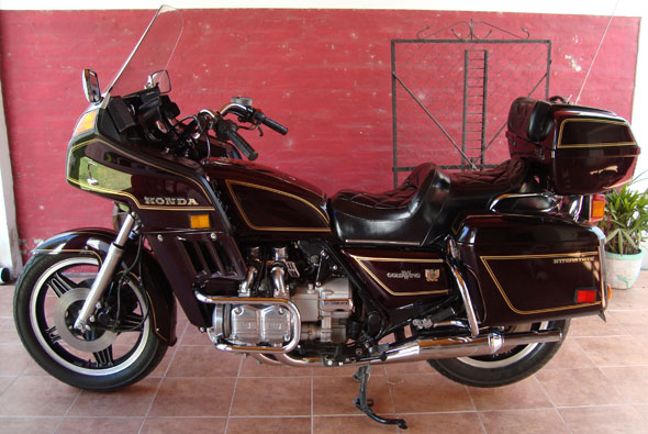 Moto Honda 1980