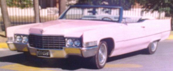 Car Cadillac 1969 De Ville Convertible