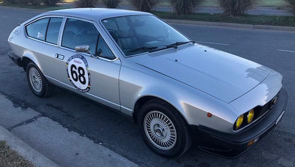 Auto Alfa Romeo GTV