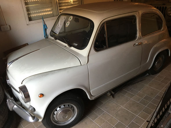 Auto Fiat 600 E Berlina