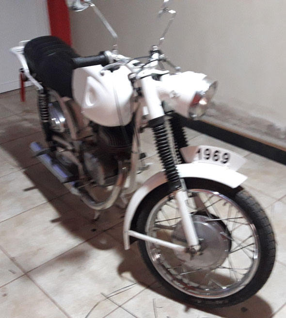 Moto Zanella 1969 Ponderoza 175