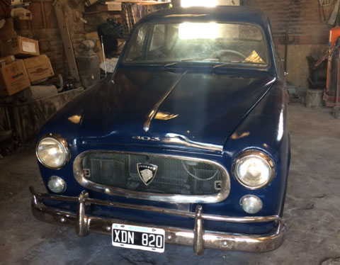 Auto Peugeot 1961