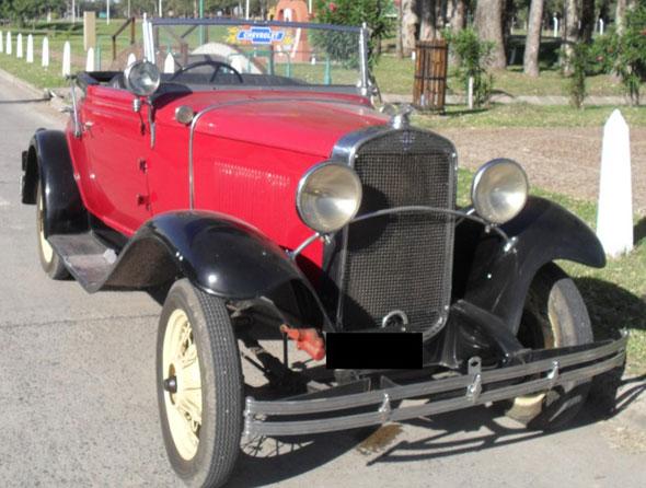 Auto Chevrolet 1931