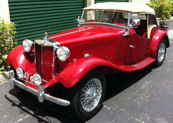 Auto MG TD