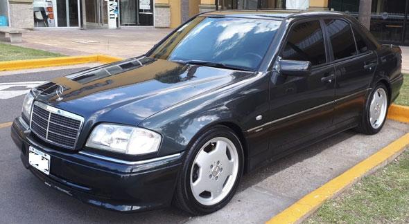 Auto Mercedes Benz C36 AMG