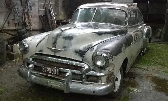 Auto Chevrolet De Luxe 1950