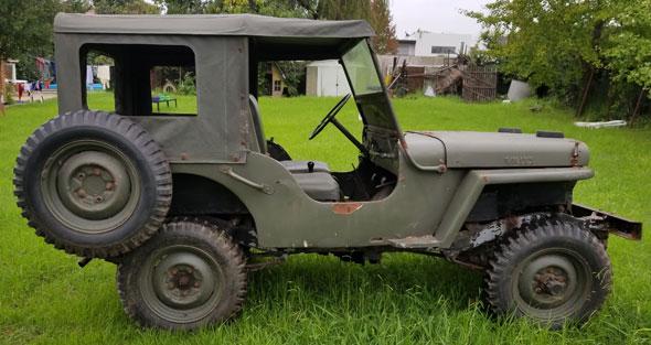 Auto Jeep Willys