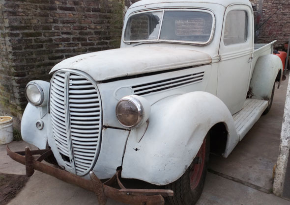 Auto Ford Pickup 1938