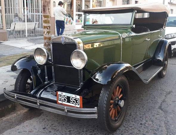 Auto Chevrolet Doble Phaeton 1929