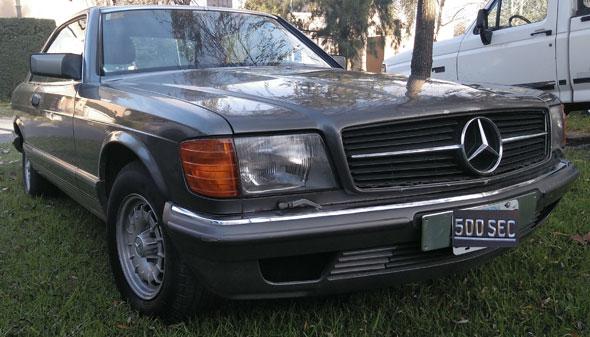 Auto Mercedes Benz 500 SEC