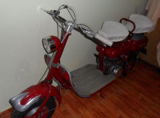 Moto Siambretta 125 Standard Colección