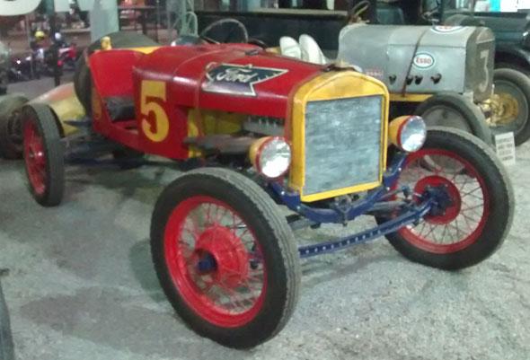 Auto Ford T baquet
