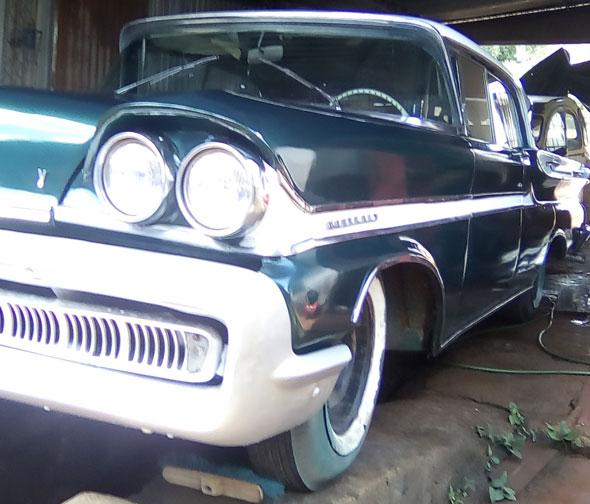 Auto Mercury 1958