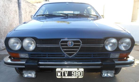 Auto Alfa Romeo Alfetta GTV 1979