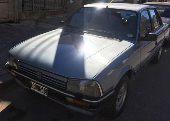 Auto Peugeot 1992
