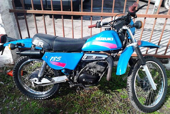 Moto Suzuki ER Cross