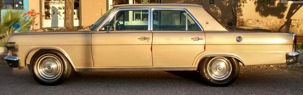 Auto Renault Ambassador 1972