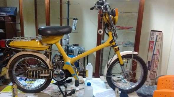 Moto Honda NC50