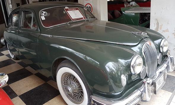 Auto Jaguar MK 1 1959