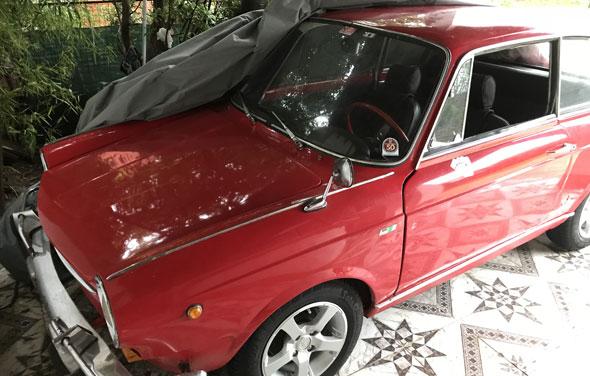 Auto Fiat Coupé 1963